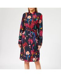PS by Paul Smith - Urban Jungle Shirt Dress - Lyst