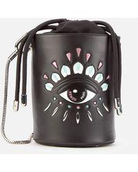 KENZO Mini Bucket Eye Bag - Black