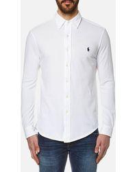 Polo Ralph Lauren Button Down Oxford Shirt - White