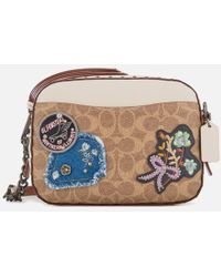 COACH - Women's Patches And Border Rivets Camera Bag - Lyst