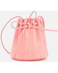 Mansur Gavriel Baby Pleated Bucket Bag - Multicolour