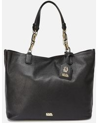 Karl Lagerfeld - Women's K/grainy Hobo Bag - Lyst