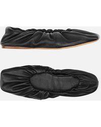 Ganni Napa Ballet Flats - Black