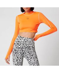 adidas By Stella McCartney Truepure Crop Top - Orange