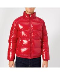 Pyrenex Vintage Mythik Jacket Shiny - Red