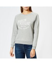 Maison Kitsuné - Women's Par Perm Palais Royal Sweatshirt - Lyst