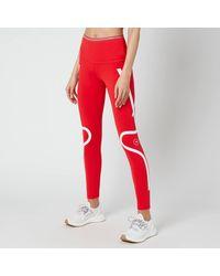adidas By Stella McCartney Truepace Long Primeblue Tights - Red
