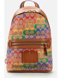 COACH Academy Backpack - Multicolor