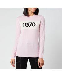 Bella Freud Women's 1970 Cashmere Jumper - Black