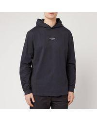 Acne Studios Reverse Hooded Sweatshirt - Black