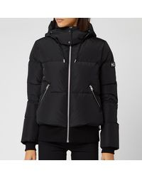 Mackage Aubrie Hooded Shell-down Jacket - Black