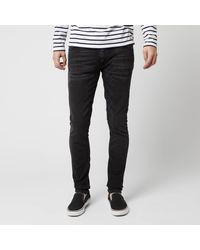 Nudie Jeans Skinny Lin Skinny Jeans - Black