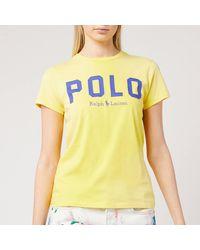 Polo Ralph Lauren 30/1 Cotton Jersey T-shirt - Yellow