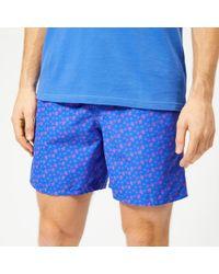 e7c2532153 Vilebrequin Moorea Micro Turtles-print Swim Shorts in Blue for Men - Save  19% - Lyst