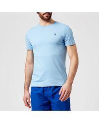 Polo Ralph Lauren - Men's Short Sleeve Crew Neck Tshirt - Lyst