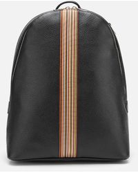 PS by Paul Smith Signature Stripe Backpack - Multicolour
