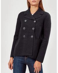 Emporio Armani - Women's Short Smart Jacket - Lyst