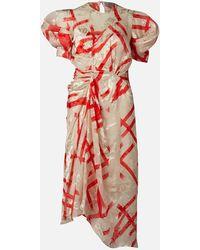 Preen By Thornton Bregazzi Yoko Midi Dress - White