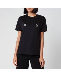 KENZO Loose Fit T-shirt Sport - Black