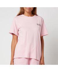 Ganni - Thin Software Jersey T-shirt - Lyst