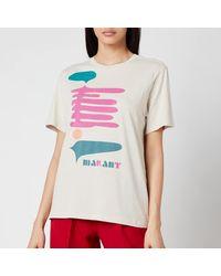 Étoile Isabel Marant Zewel T-shirt - White