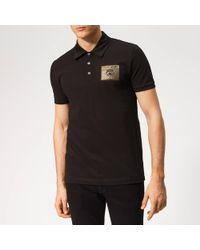 Philipp Plein Metal Sport Polo-shirt - Black