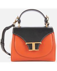 Tod's Tri Colour Top Handle Micro Bag - Multicolour