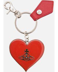 Vivienne Westwood Windsor Mirror Heart Orb - Red