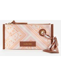 See By Chloé Beth Bandana Cosmetic Pouch - Multicolour