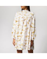 Ganni - Women's Weston Print Dress - Lyst
