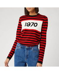 Bella Freud 1970 Merino Wool Sweater - Red