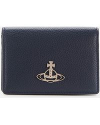 Vivienne Westwood Windsor Card Holder - Blue