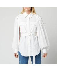 JW Anderson Trench Shirt - White