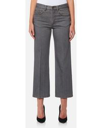 Marc Jacobs - Women's Cropped Denim Trousers - Lyst