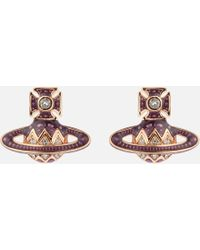 Vivienne Westwood Aretha Bas Relief Earrings - Multicolour