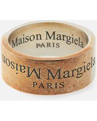 Maison Margiela Branded Ring - Grey