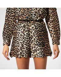 Ganni Cedar Shorts - Black