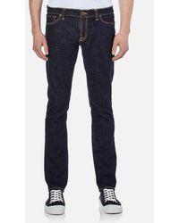 Nudie Jeans - Men's Long John Skinny Jeans - Lyst