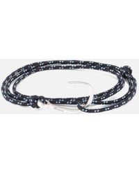 Miansai - Men's Rope Bracelet With Silver Hook - Lyst