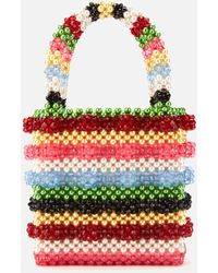 Shrimps Antonia Beaded Bag - Multicolour