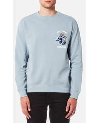 Maharishi - Men's Golden Chest Crew Sweatshirt - Lyst