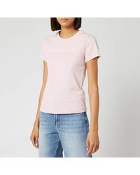 Helmut Lang - Raised Embroidered Standard T-shirt - Lyst