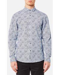 Michael Kors - Men's Slim Charles Print Shirt - Lyst