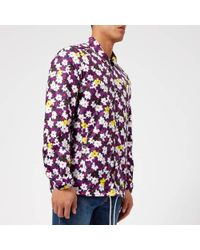 KENZO - Men's Floral Coach Jacket - Lyst