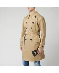 DSquared² Trench Coat - Natural