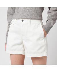 Polo Ralph Lauren Slim Chino Shorts - White