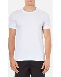 Lacoste - Basic Crew T-shirt - Lyst