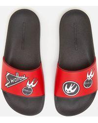 McQ - Swallow Slide Sandals - Lyst