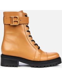 Balmain Ranger Boot Leather - Brown