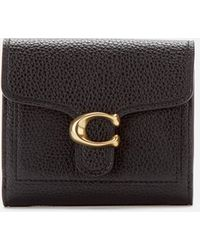 COACH Polished Pebble Tabby Small Wallet - Multicolour